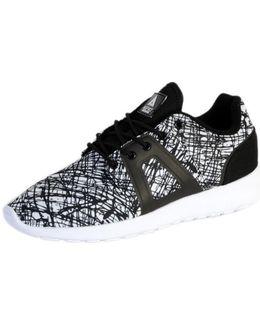 Sneakersball Super Tech Black-white Scratch Women's Shoes (trainers) In Grey