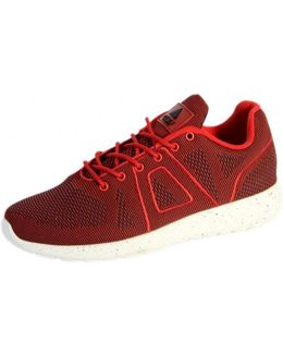 Sneakersball Super Yarknit Red Women's Shoes (trainers) In Red