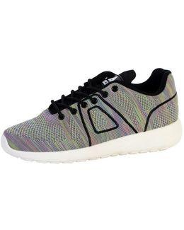 Shoes Super Yarknit Black Multicolor Women's Shoes (trainers) In Multicolour