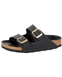Sandals Arizona Birko-flor Black/ Boucle D'or Exquisite Men's Mules / Casual Shoes In Black