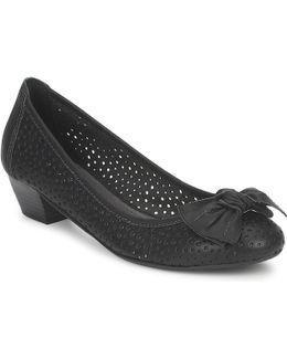 Yarina Women's Court Shoes In Black