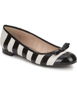 Ava Women's Shoes (pumps / Ballerinas) In Black