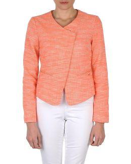 Q21489 Women's Jacket In Orange