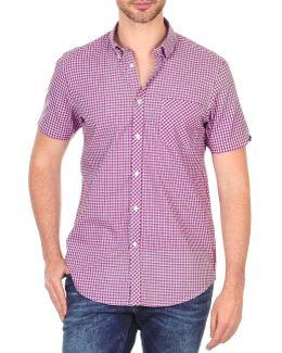 Bema00479s Men's Short Sleeved Shirt In Red