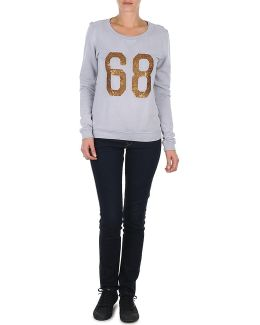 Q21709 Women's Sweatshirt In Grey