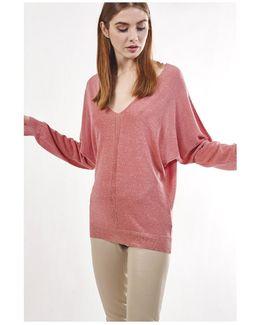 Pullover Malabar Women's Sweater In Orange