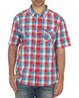 Woodca Men's Short Sleeved Shirt In Multicolour