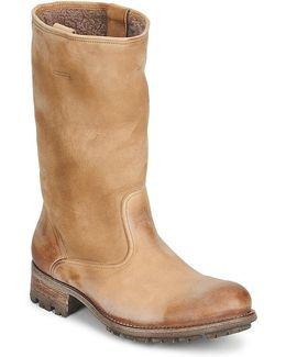 Vallee Blanche Kuduwaxoil/dfa Women's High Boots In Brown