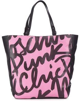 A7527-8001-2221 Women's Shopper Bag In Pink