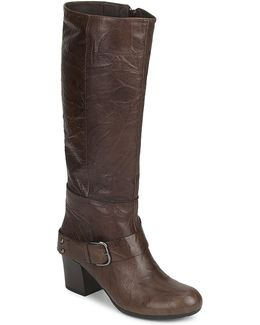 Martina-2 Women's High Boots In Brown