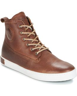 Inch Worker On Foxing Fur Men's Shoes (high-top Trainers) In Brown