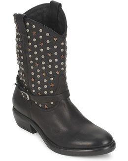 - Women's Mid Boots In Black