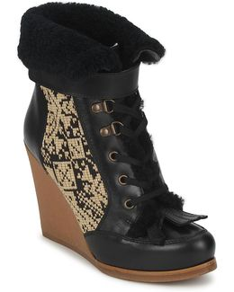 Denise Women's Low Ankle Boots In Black