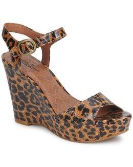 Lindey Platform Wedge Sandals