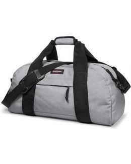 Station Sundey Grey Men's Travel Bag In Multicolour