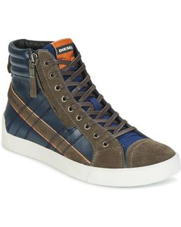 D-string Plus Men's Shoes (high-top Trainers) In Blue