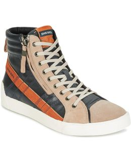 D-string Plus Men's Shoes (high-top Trainers) In Grey