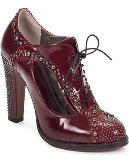 Salina Women's Low Boots In Red