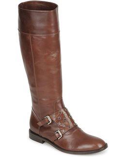 Quero Women's High Boots In Brown