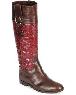 Vandick Women's High Boots In Brown