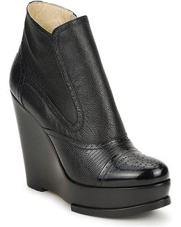 Wendy Women's Low Ankle Boots In Black