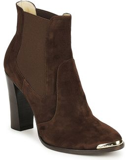 Amalfi Women's Low Ankle Boots In Brown
