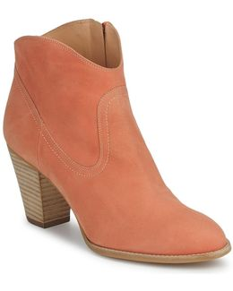 Leona Women's Low Boots In Orange