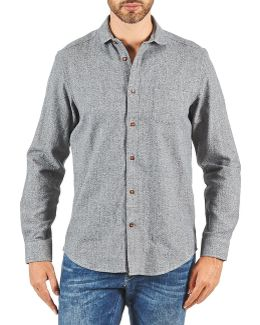 Bema00685 Men's Long Sleeved Shirt In Grey