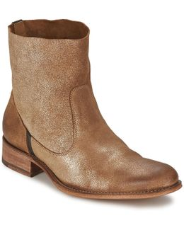 Sandrine Softy Brillo Women's Mid Boots In Gold