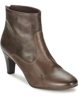 Lizz Balboa Women's Low Ankle Boots In Brown