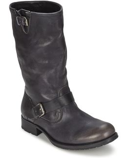 Biker Mid R Camarra Slavato Women's High Boots In Black