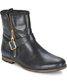 Nouno Women's Mid Boots In Black