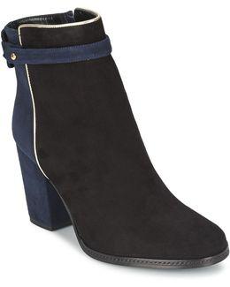 Elena Women's Low Ankle Boots In Black