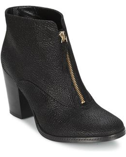 Elisa Women's Low Ankle Boots In Black