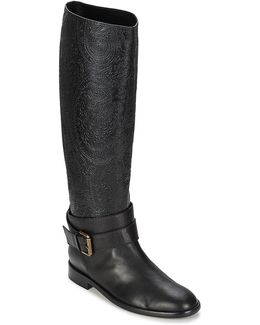 3106 Women's High Boots In Black