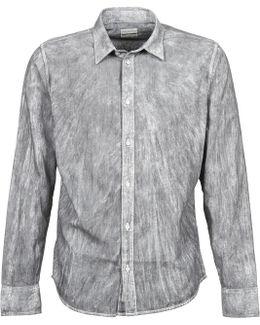 Wazo Men's Long Sleeved Shirt In Grey