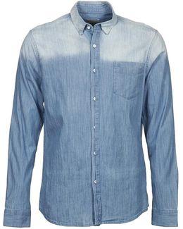 Wham Men's Long Sleeved Shirt In Blue
