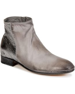 Silvia Women's Mid Boots In Grey