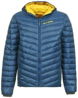 Verglas Hooded Down Insulator Men's Jacket In Blue