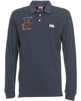 Marstrand Ls Polo Men's Polo Shirt In Blue