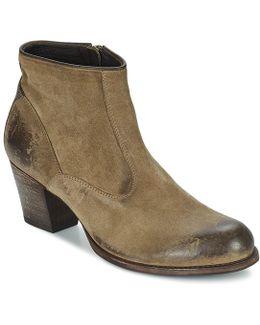 Em Women's Low Boots In Brown