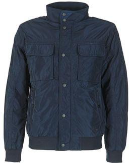 Padded Calder Bomber Men's Jacket In Blue