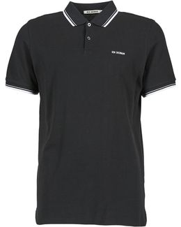 Block Font Romford Men's Polo Shirt In Black
