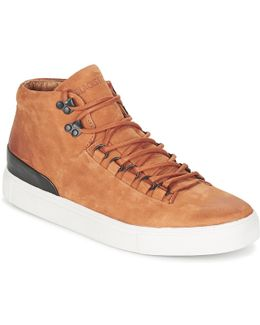 Glajo Men's Shoes (high-top Trainers) In Brown