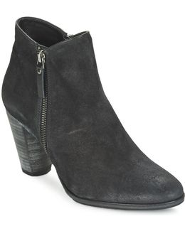 Snyder Women's Low Ankle Boots In Black