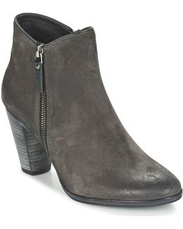 Snyder Women's Low Ankle Boots In Grey