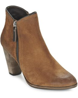 Snyder Women's Low Ankle Boots In Brown
