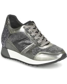 Cleo Women's Shoes (trainers) In Silver