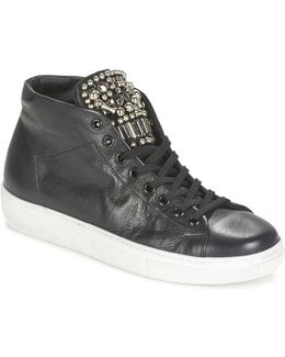 Alexa Women's Shoes (high-top Trainers) In Black