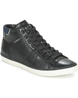 Miata Bootie Women's Shoes (high-top Trainers) In Black
